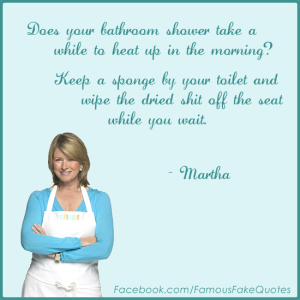 martha shower