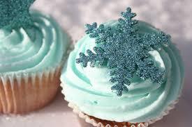 muffins blå snö